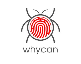 Bug Fingerprint Bug logo design