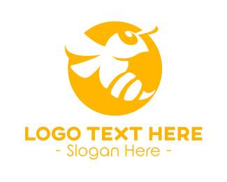 Yellow - Yellow Hornet logo design