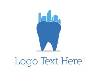 Dental Dentistry City  logo design