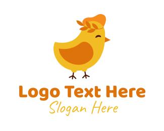 Childcare - Baby Chick Restaurant  logo design