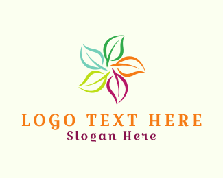Seasonal - Seasonal Leaves logo design