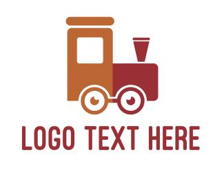 Switzerland - Geek Train logo design