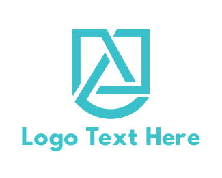 Intial - Abstract Letter A logo design