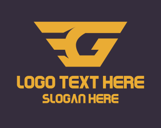 Superhero - E & G logo design