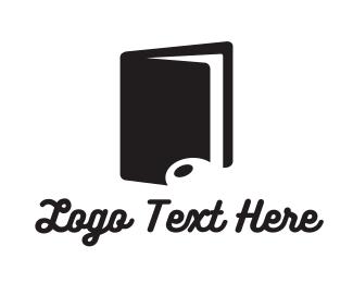 Song - Music Note Book logo design