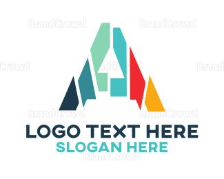 Aspen - Mosaic Letter A  logo design