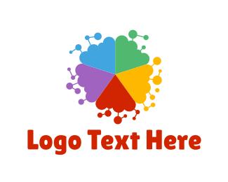 Fellowship - Colorful Shape logo design