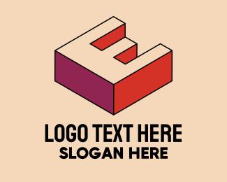 Pop Art - 3D Pixel Letter W logo design