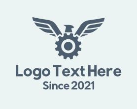 Automation - Bird Wing Gear logo design