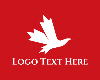 Montreal - Maple Bird logo design