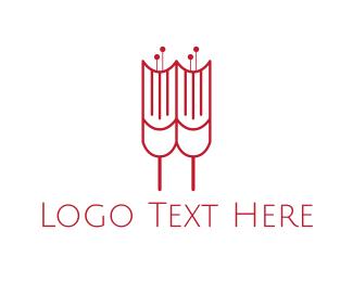 Basic - Tulip Book logo design