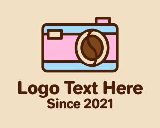 Pastel - Pastel Coffee Camera  logo design
