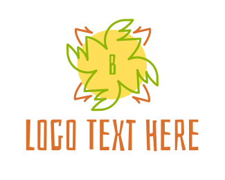 Kinder - Tropical Lettermark logo design