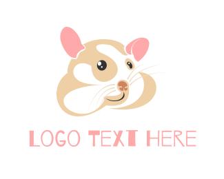 Ear - Cute Hamster logo design
