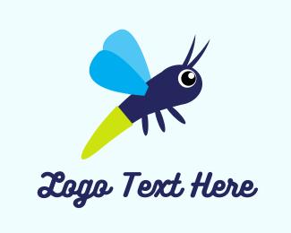 Firefly - Baby Butterfly logo design