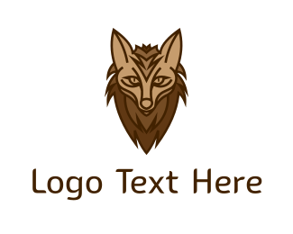 Hyena - Brown Hyena logo design