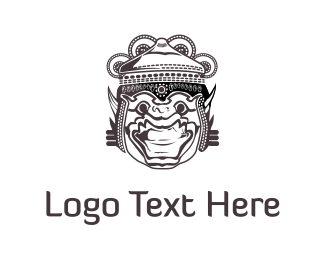 Asia - Hindu God logo design