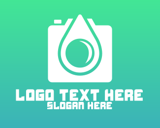 Droplet Camera Photgraphy App Logo