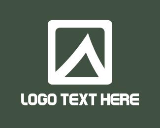 Lava - White Mountain logo design
