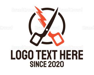 Barber Shop - Fast Barber logo design