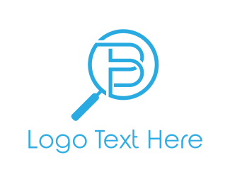 Evidence - Zoom Letter B logo design