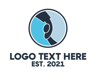 Childhood - Blue Childcare logo design