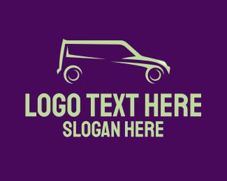 Simple - Simple Green Van logo design