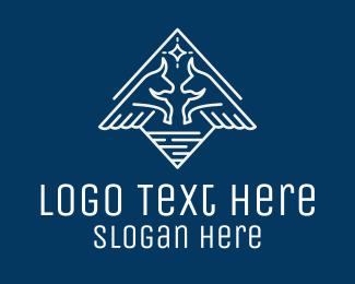 Investment - Diamond Bull Wings logo design
