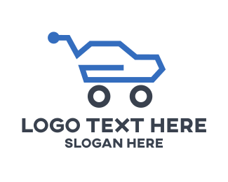 Driving - Auto Sales logo design