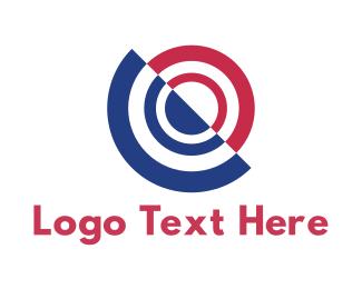 Number 0 - Tech Target logo design