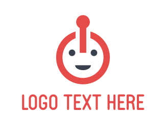 Smiling - Power Face logo design