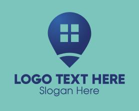 Locator - House Locator logo design