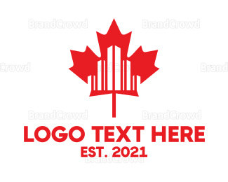 Canadian - Canadian City logo design