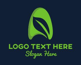 Horticulture - Leaf Letter A logo design
