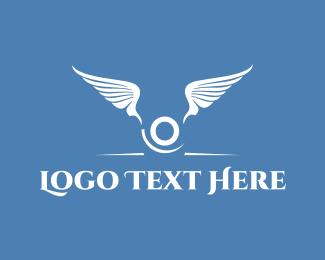 Winged - Winged Letter O logo design