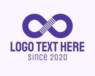 Infinity - Purple Infinity Symbol logo design