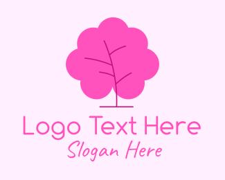Bush - Minimalist Bush Tree logo design