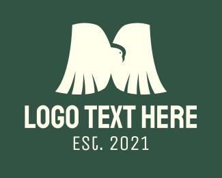 Letter - Bird Letter M logo design