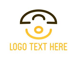 Telephone - Happy Phone logo design