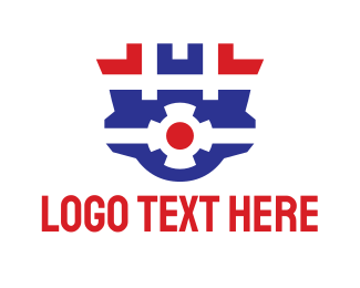 Safe - Geometric Surveillance logo design