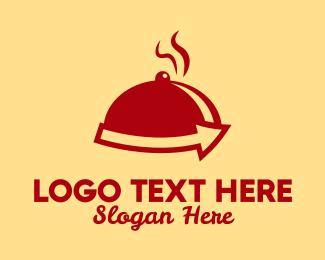 Gourmet - Food Tray logo design