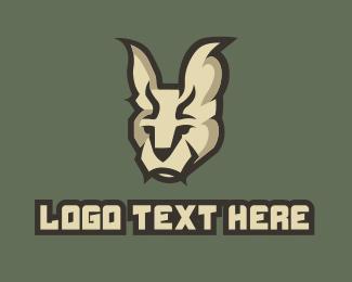 Caracal - Caracal Mascot logo design