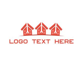 Fix - House Repair logo design
