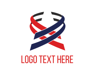 Politics - Patriotic Ribbons logo design