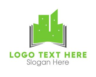 Urban - Green Buildings logo design