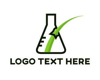Break - Grass Lab logo design