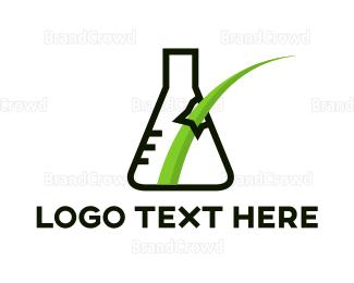 Break - Grass Lab logo design