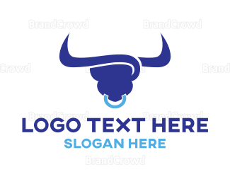 Credit - Blue Bull logo design