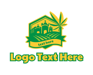 Farm - Cannabis Farm logo design