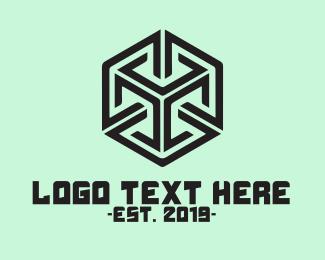 Consultant - Generic Tech Startup Cube logo design